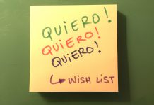 Wish-List para enseñar a esperar #familybusiness