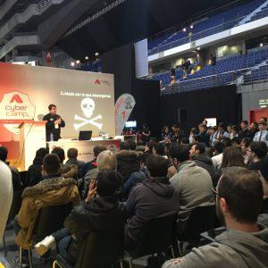 JosepAlborsAtCyberCamp15