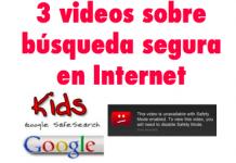 3 videos sobre búsquedas seguras en Internet #ePaternidad