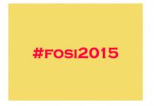 Siguiendo #fosi2015 desde España
