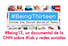 Tener 13 años en tiempos de redes sociales #ePaternidad #Being13