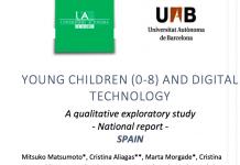 Revelador estudio sobre tecnología y niños de 0 a 8 años en España #ePaternidad #digital08jrc
