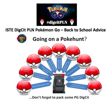 Aprovechar #PokémonGo para enseñar Ciudadanía Digital a los niños