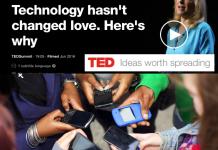 La tecnología NO está cambiando el amor