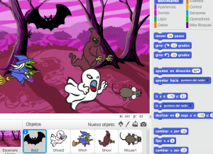 Proyecto Halloween con Scratch de iLast