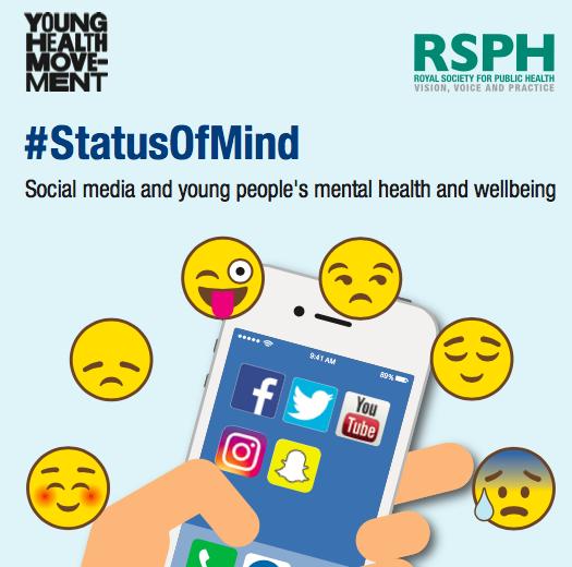 6 reflexiones sobre redes sociales y salud de los jóvenes #StatusOfMind