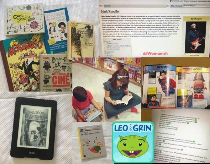 Pantallas, lectura y niños: leer en tiempos digitales
