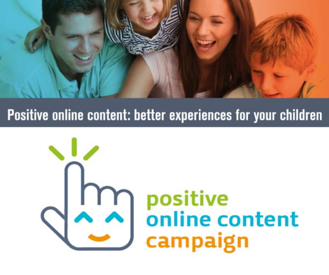 La vida digital de tus hijos empieza contigo. ¡Súmate a #positivecontent!