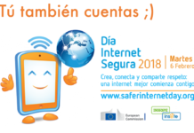 6 FEB – Día de Internet Segura #SID2018 con @is4k @INCIBE