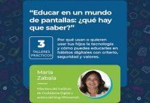 Educar en tiempos de pantallas: ¿qué hay que saber? Ciclo de conferencias en A Coruña